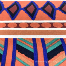 Colorful Rayon Vscose Print Woven Garment Fabrics
