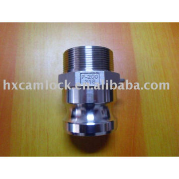SS316 camlock fitting Male Threaded Adaptor