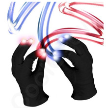 Promosi Partai Rave Led Finger Led Glowing Gloves