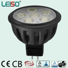 Halogênio Tamanho 5W 12V Dimmable LED Spotlights com CE RoHS (J)
