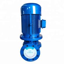 Pompe centrifuge de pipeline à aspiration de fin monophasée de série ISG, pompe centrifuge verticale