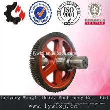 Forging Crown Gear Shaft For Industry Machinery