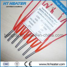Elemento aquecedor de cartucho elétrico de 12 V