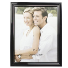 New Design Black 8x10inch Plastic Photo Frame