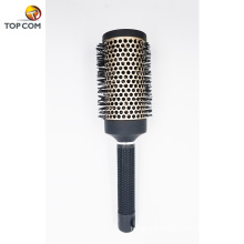Nano Thermal Ceramic & Ionic Barril para el cabello, cerdas de jabalí, 100% jabalí