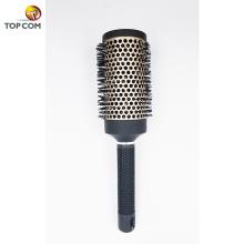 Nano Thermal Керамическая и ионная круглая бочка 100% щетина для волос из кабана
