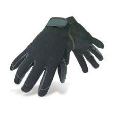 Guantes de seguridad de trabajo mecánicos de color negro duradero