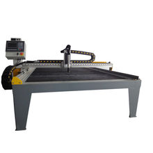 CNC stainless steel plasma cutting machine table