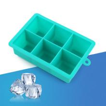 6 Gitter Silikon Eiswürfel