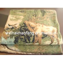 150d/96f полиэстер флиса одеяло
