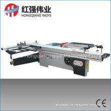 Máquina de corte de madera Mj6132A / Sierra de mesa deslizante de precisión