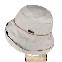 Chapeau de seau chaud de conception de mode de tennis de chapeau de seau