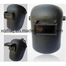 PP Sicherheits-Schweißmaske / PP-Material Vollgesichts-Schweißmaske mit doppeltem Objektiv, Schweiß-Helm-Maske, Schweiß-Headset, Schweißmaske