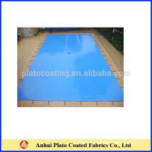 Durable segurança pvc piscina cobertura