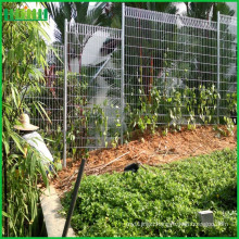 ISO9001 certification powder painted steel material brc wire mesh fence
