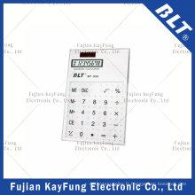 Calculatrice de taille de poche transparente à 8 chiffres pour la promotion (BT-920)