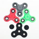 Anself Tri silicone Fidget Hand Finger Spinner Toy for Relieving Stress