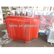 Three phase oil immersed 33kv 11kv 1500kva transformer