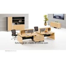 Modular MFC 4 Seats Office Table for Workstation Foh-Sf-E3212-B