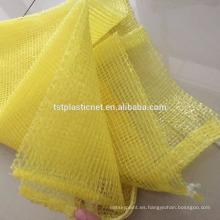 bolsas de malla baratas y reciclables para cebollas con alto rendimiento