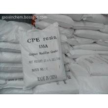 Resina de CPE para modificante del impacto del PVC con precio barato