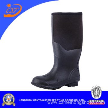 China 100% Natural Black Rubber Neoprene Muck Boots Manufacturers