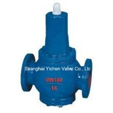 Valve de réduction de pression d'eau à bride en fonte