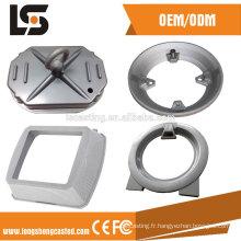 La pression à froid de l'alliage d'aluminium fait sur commande industrielle ADC12 les pièces de rechange de moulage mécanique sous pression