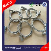 calentadores de bobina de corredor caliente con certificación CE 230V
