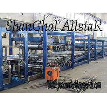 EPS z-lock sandwich panel roll forming machine/ machinery for sandwich production