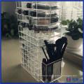 Moderno de giro de acrílico lápiz labial titular de la caja para la venta