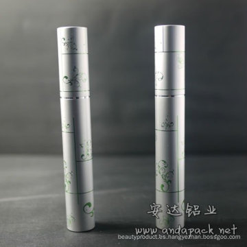 Aluminio redondo botella de rimel