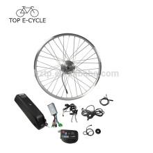 """Barato 36 V 250 W 26 """"28"""" 700C com bateria para baixo do tubo de bicicleta elétrica cnversion kit"""