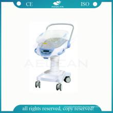 AG-CB021 Hübsches ABS ISO & CE Krankenhaus Babybett