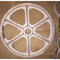 Investment Casting Carbon Steel Parts Hand Wheel /Iron/Metal