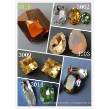 Декоративные прозрачные бусины для ожерелья