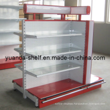 Steel Supermarket Goods Display Luxury Shelves