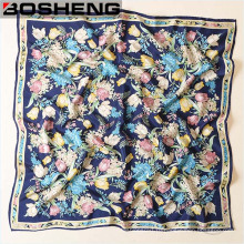 Смешанные узоры и цвета Квадратный платок Бандана Шарф