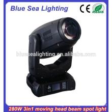 280W 3in1 bewegte Kopfstrahl-Punktlicht