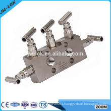 Valve Manufacturer of Stainless Steel 6000psig 3 way manifold valves