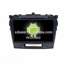 Quad core! Dvd do carro com link espelho / DVR / TPMS / OBD2 para 10.1 polegada tela sensível ao toque 4.4 sistema Android SUZUKI GRAND VITARA 2015