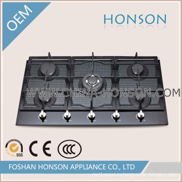 2016 элегантный дизайн Встроенный газовая плита газовая плита