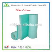 Precio de fábrica que fabrica todas las clases de series no tejidas de la colección del polvo del aire Filtre los medios del filtro del algodón / aire