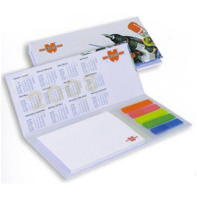 Pet Film Sticky Notes, Assorted Memo Pad with Hardcover