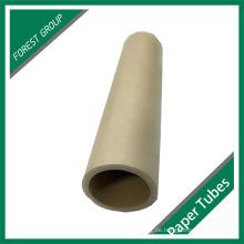 Kundenspezifisches Design Plain Brown Kraftpapier Tube