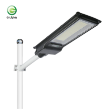 Solar LED street lights without remote control