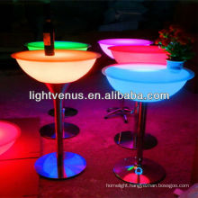 CE rechargeable wifi control color changing factory direct sale led furniture for bars