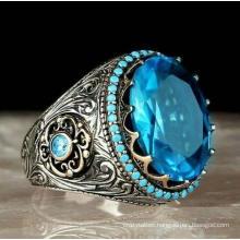 Amazon Inshot Sell Irregular Rock Edging Vintage Ring Drop Oil Men Women Bronze Retro Ring
