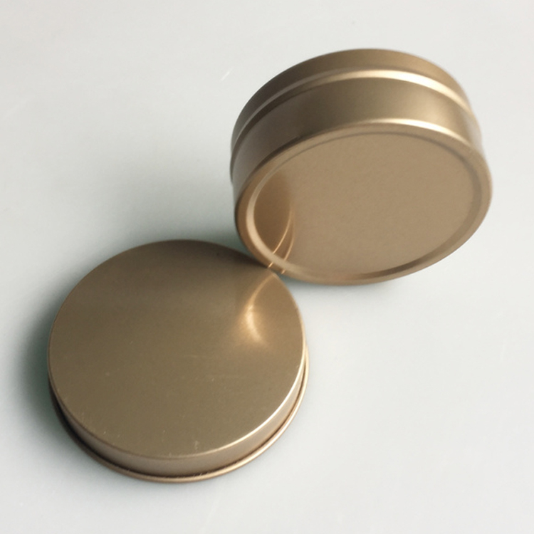 60x25mm Mini Round Tin Box For Candle Packaging