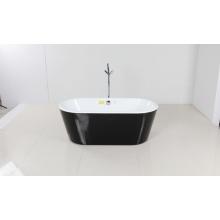 Bañera independiente de acrílico de diferentes colores